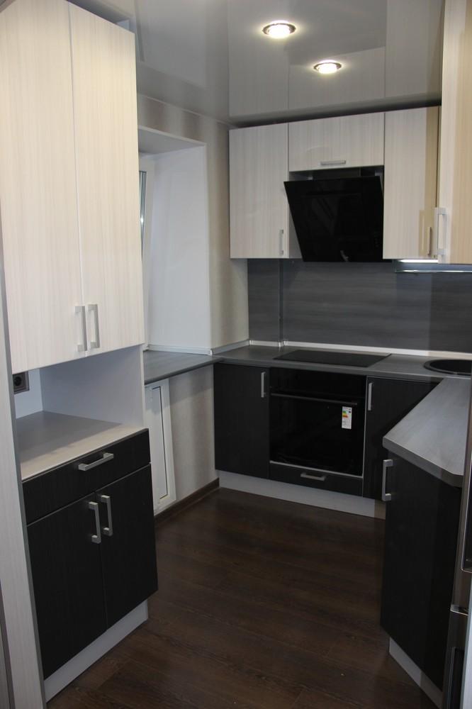 Встроенная кухня-Кухня МДФ в ПВХ «Модель 92»-фото4