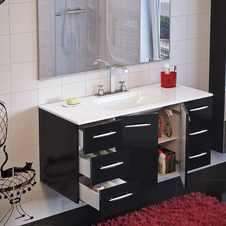 Мебель для ванной комнаты-Мебель для ванной «Модель 4»-фото2