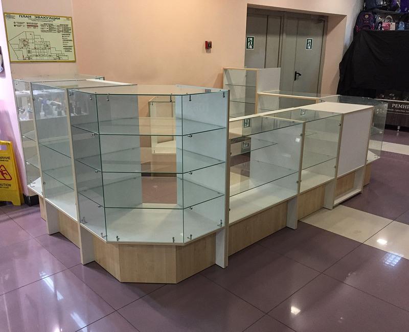 Торговая мебель-Торговый островок «Модель 237»-фото1