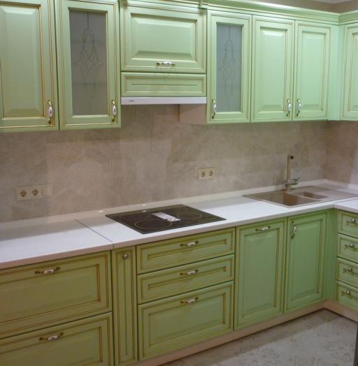 -Кухня МДФ в ПВХ «Модель 326»-фото4