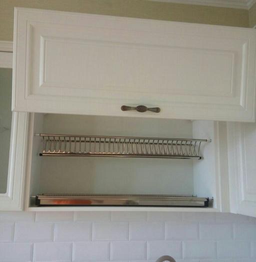 Белый кухонный гарнитур-Кухня МДФ в ПВХ «Модель 226»-фото6