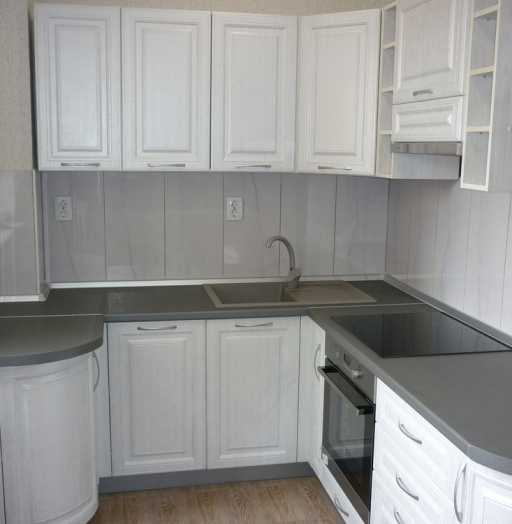 -Кухня МДФ в ПВХ «Модель 249»-фото21