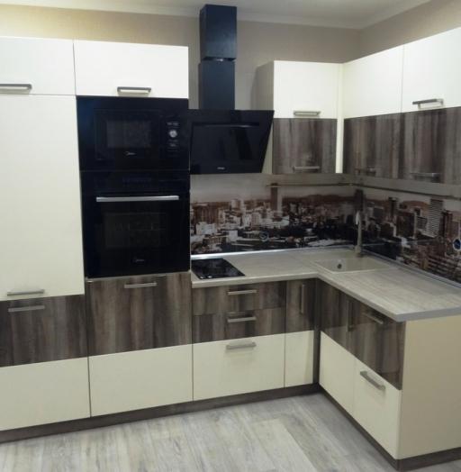 -Кухня МДФ в эмали «Модель 485»-фото14