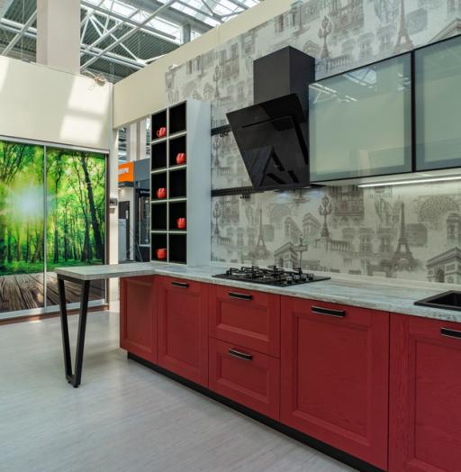 -Кухня МДФ в ПВХ «Модель 51»-фото27