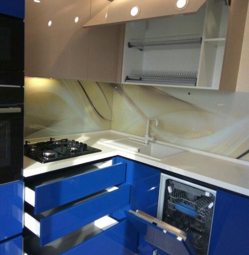 -Кухня МДФ в эмали «Модель 164»-фото17